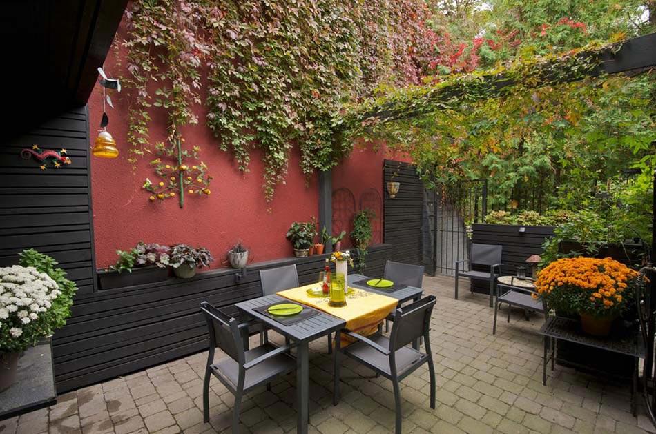 Aménagement terrasse de styles et inspirations différents