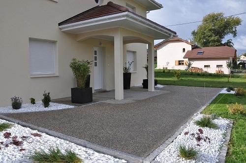 arredamento ingresso esterno casa