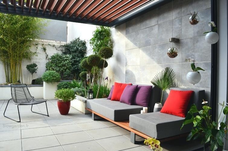 Deco Terrasse Exterieure Coration A Slowgarn Decoration