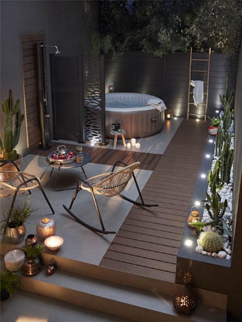 ment décorer une terrasse avec du noir Joli Place