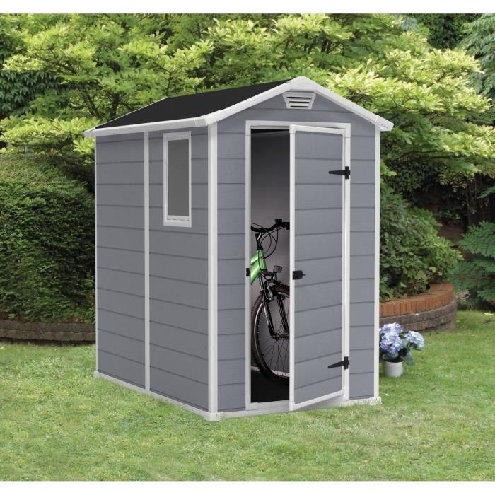 Destockage Abri De Jardin Keter Abri De Jardin Premium 46 S En Résine 1 96 M²