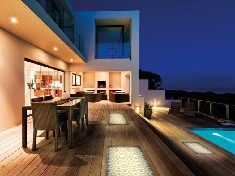 Éclairage extérieur design et luminaires tendance du moment