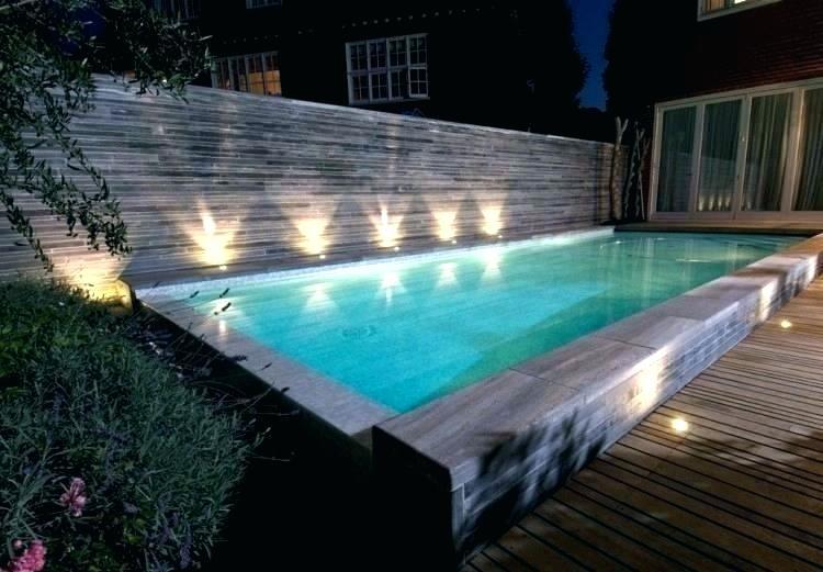eclairage piscine et terrasse