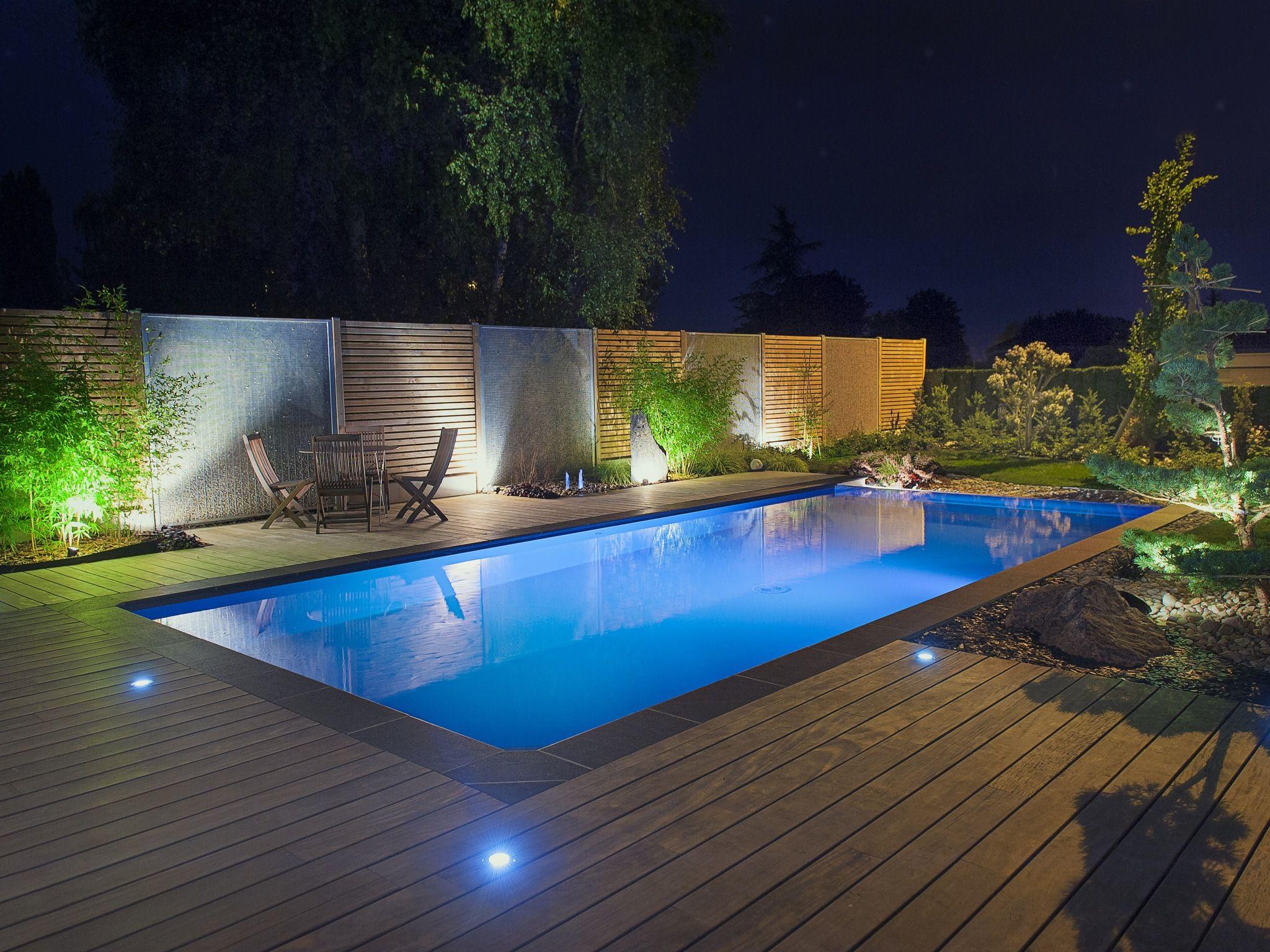 La piscine paysagée par l esprit piscine 8 x 4 m