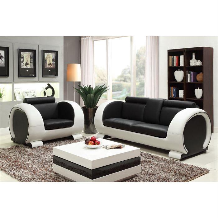 austin ensemble canapé 3 places fauteuil cuir