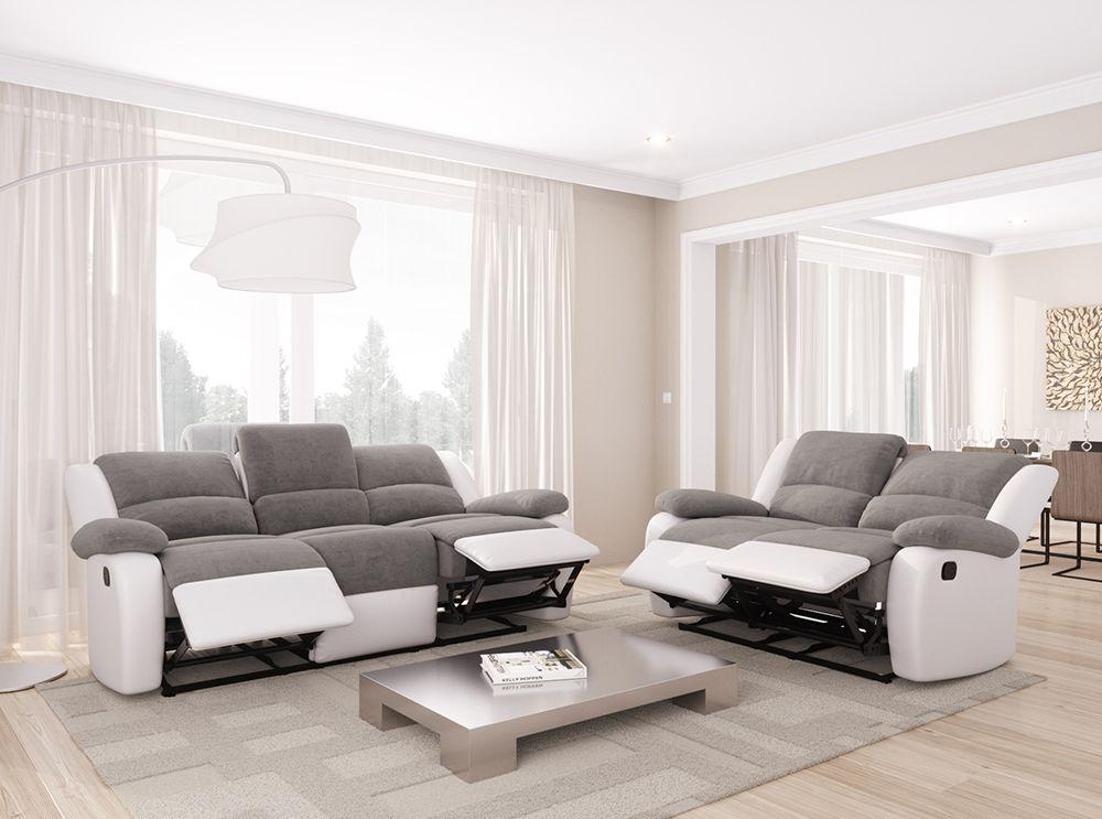 Canapés de Relaxation DETENTE 2 et 3 places en Microfibre