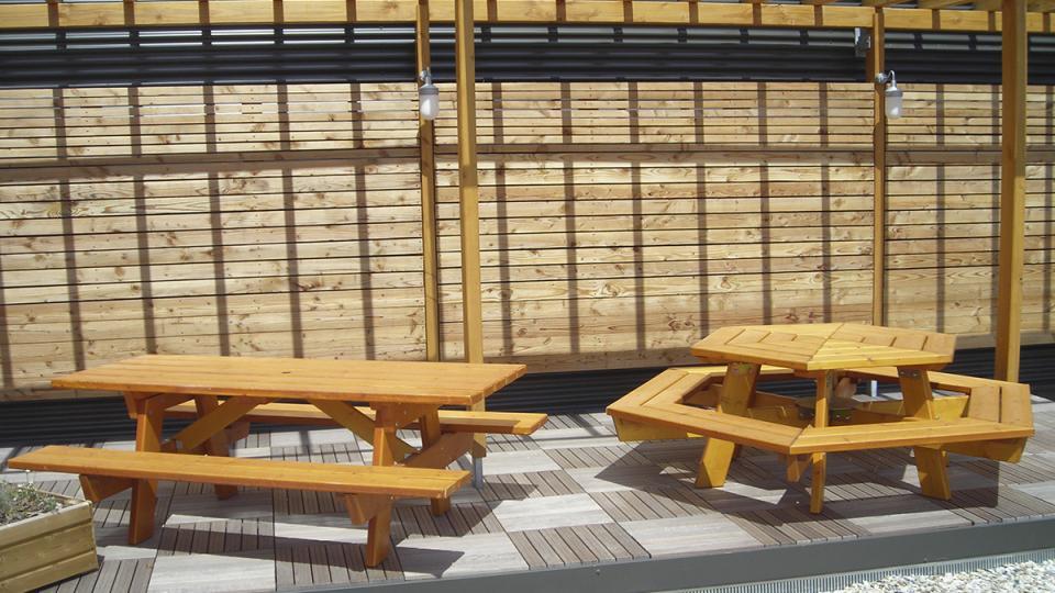 Afiph Entreprises Fabrication Mobilier Extérieur bois