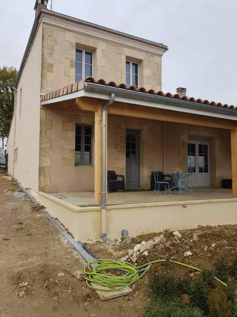 Aménagement extérieur terrasse Berson Entreprise de