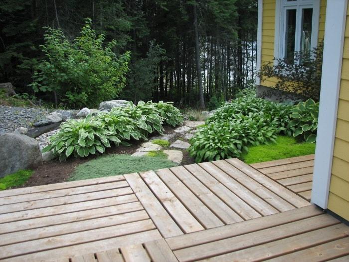 Aménagement paysager au Saguenay Chicoutimi