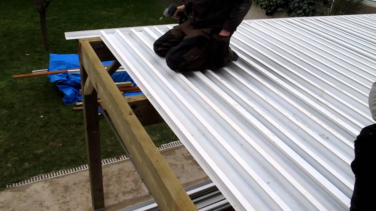 Création d une terrasse en bois étanche mise en place de
