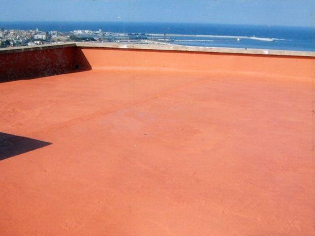 Etanchéité terrasse béton ciment bois carrelée