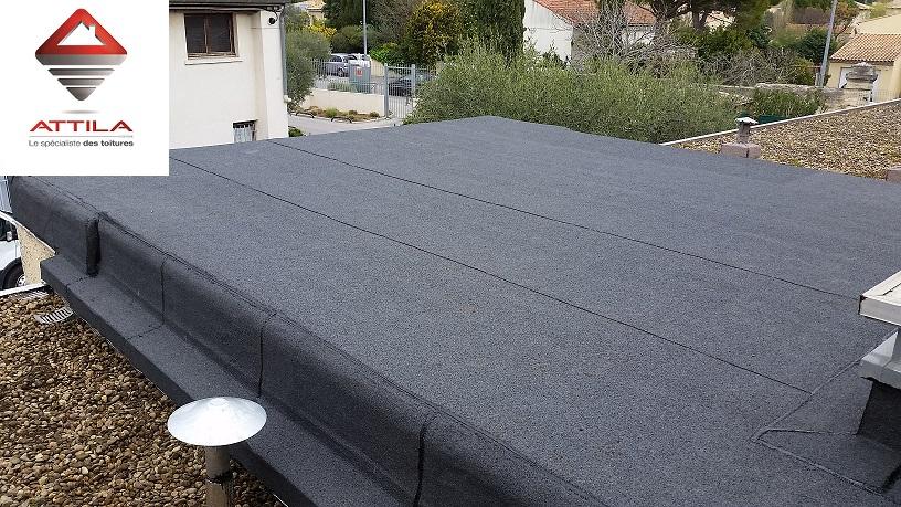 Fuite étancheité toiture Montpellier Herault 34