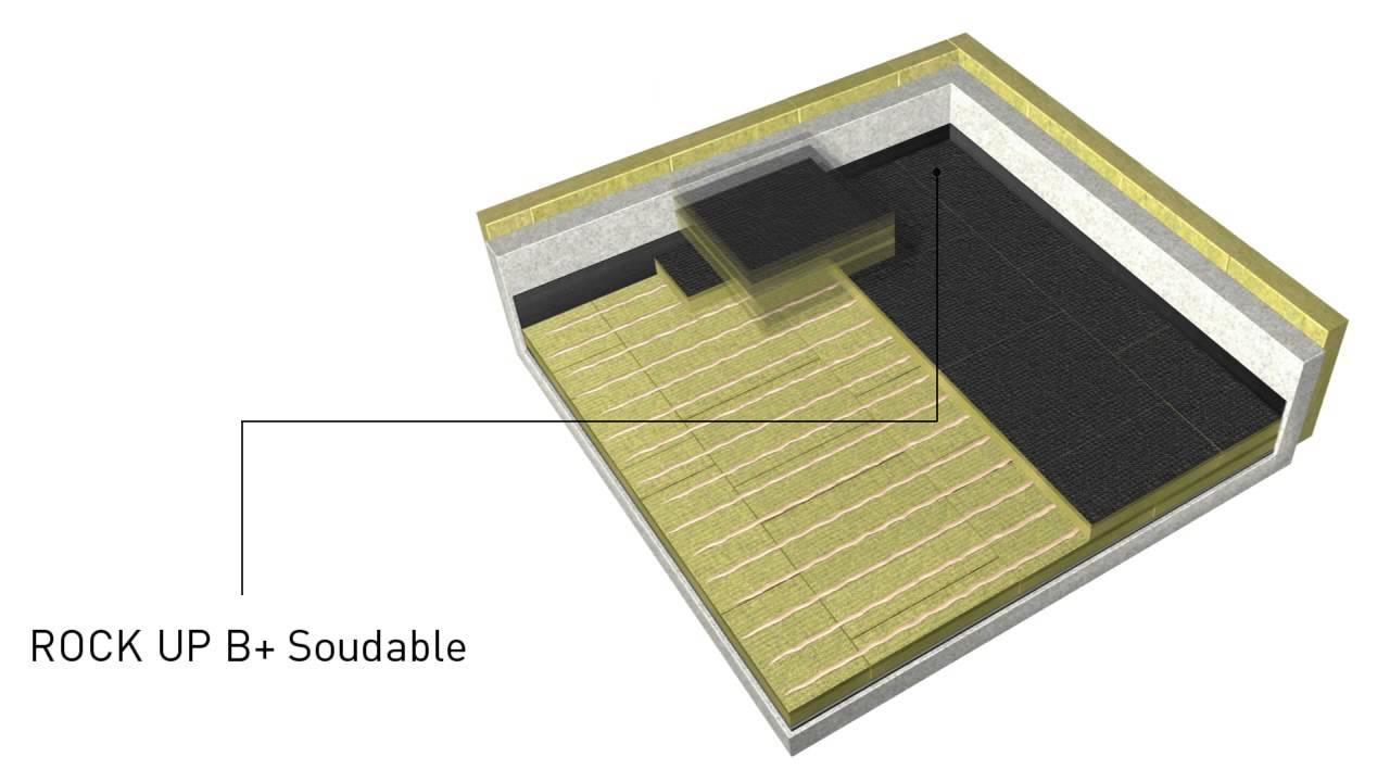 Isolation toitures terrasses béton et maçonnées avec ROCK