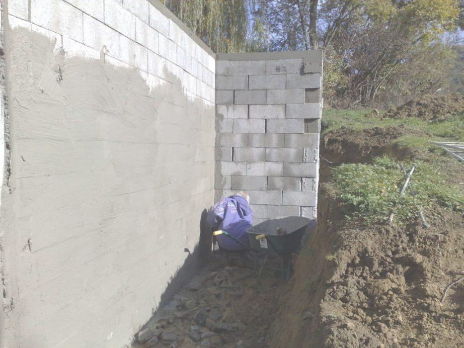 Limitée Etancheite Mur Exterieur Sous Sol Pic