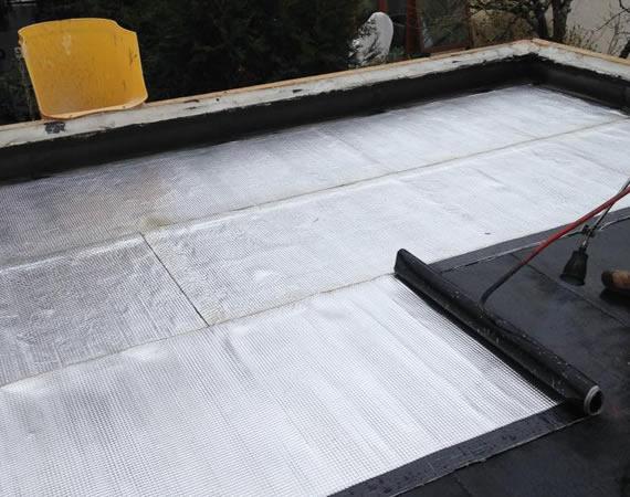 Etancheite toit terrasse goudron