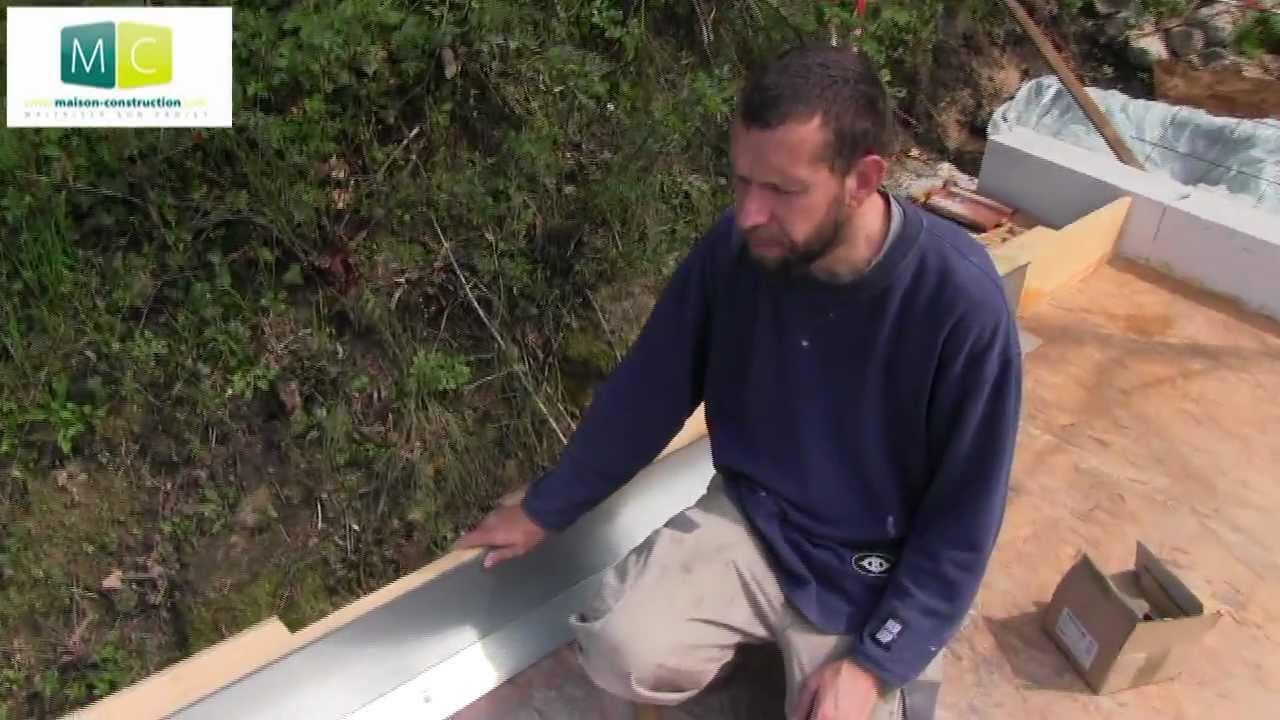 Toiture plate étanchéité Waterproofing flat roof