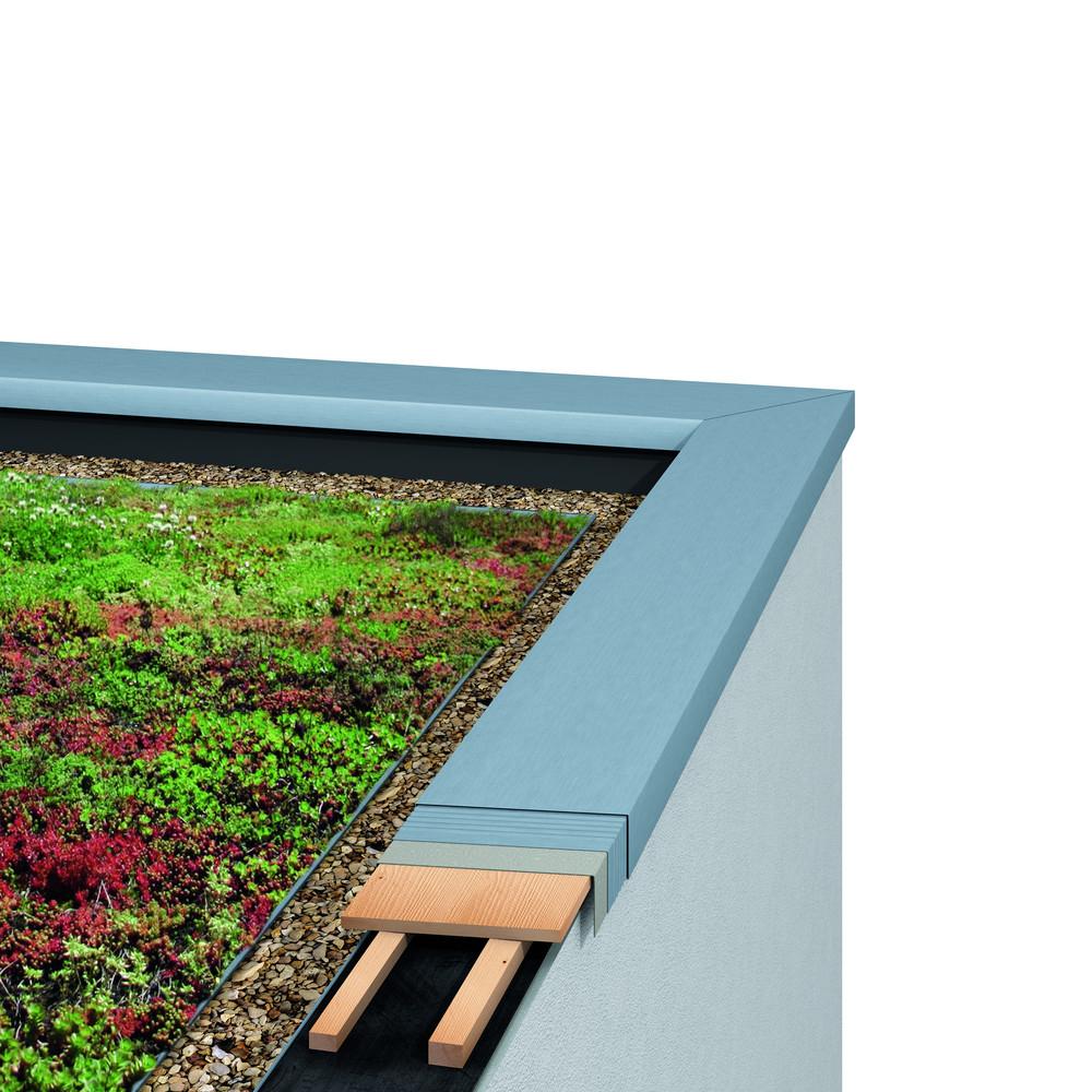 Profilé d agrafage UDS le raccord parfait des toits plats