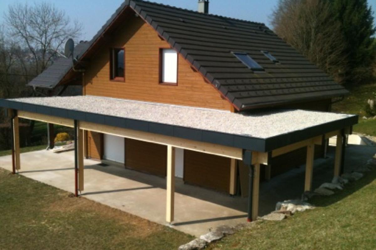 Extension toit Terrasse Vision Bois Réalisations Extension toit Terrasse Savoie