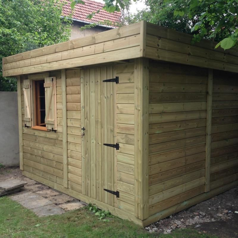 Acheter Abri de jardin MONTFORT Toit Plat en bois