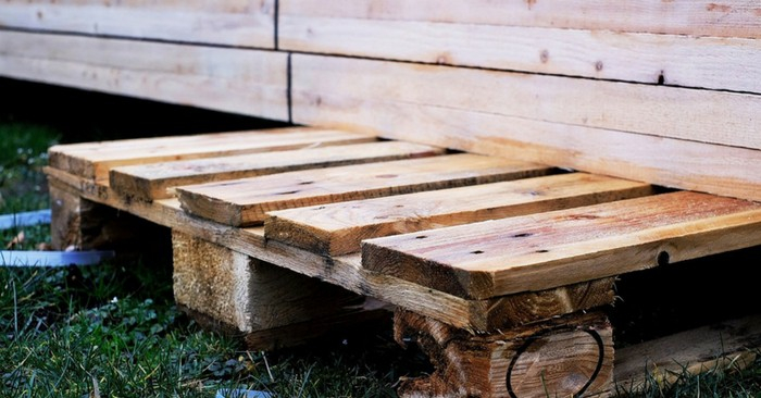 Fabricant Abri De Jardin How to Build A Wood Pallet Trellis Planter