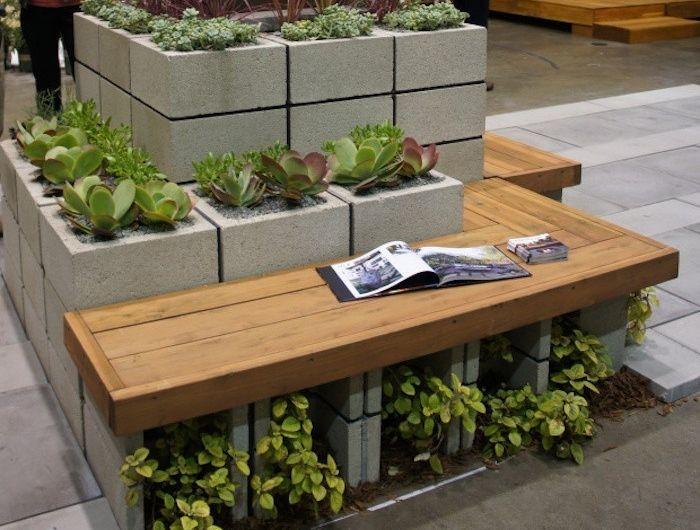 Fabriquer une jardinière en bois jardin