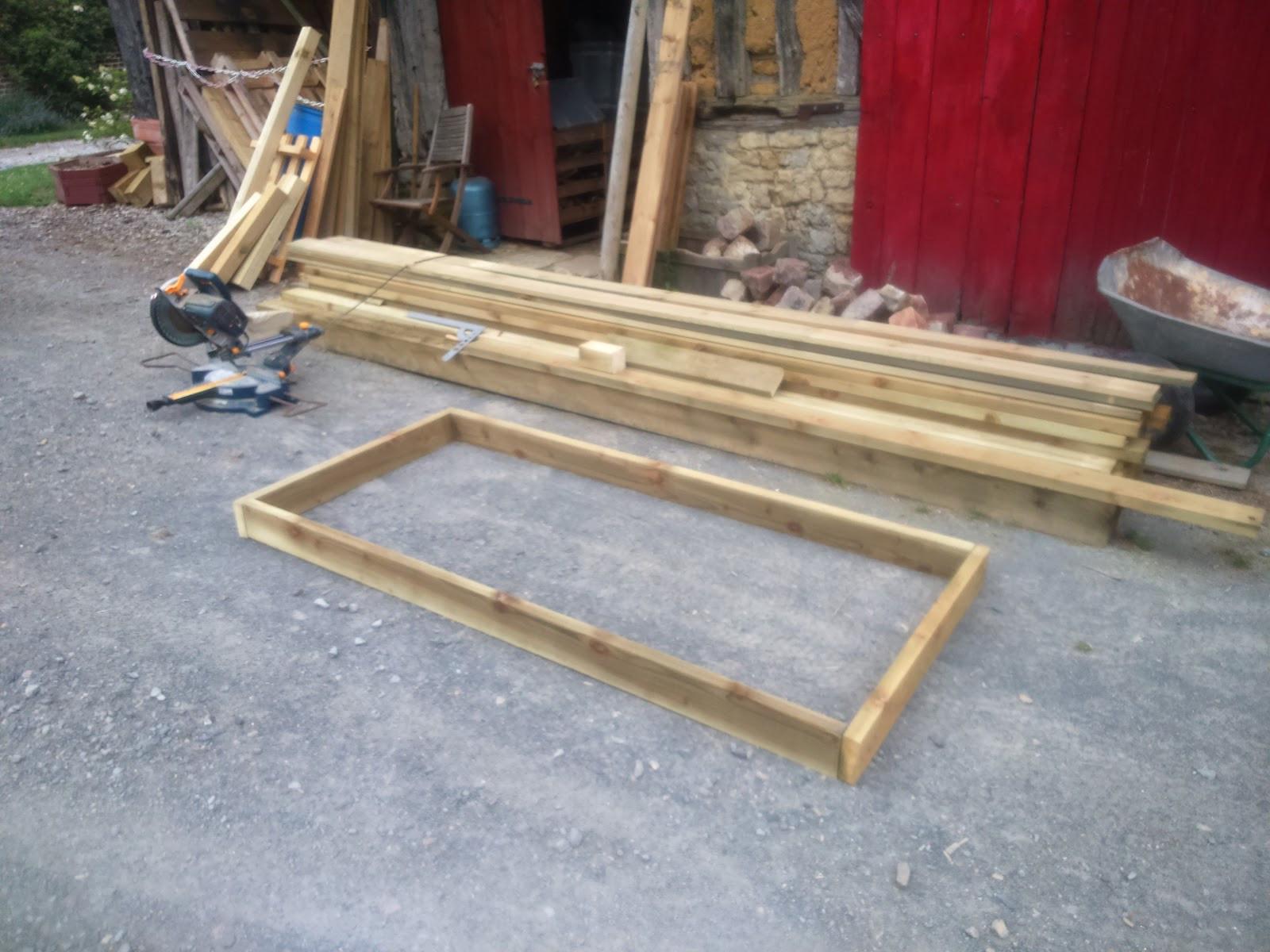 Fabriquer Table De Jardin Construire Une Table En Bois