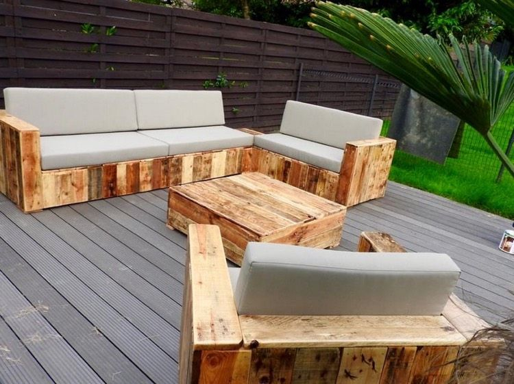 Fabriquer Table De Jardin Table Salon De Jardin Fait Maison