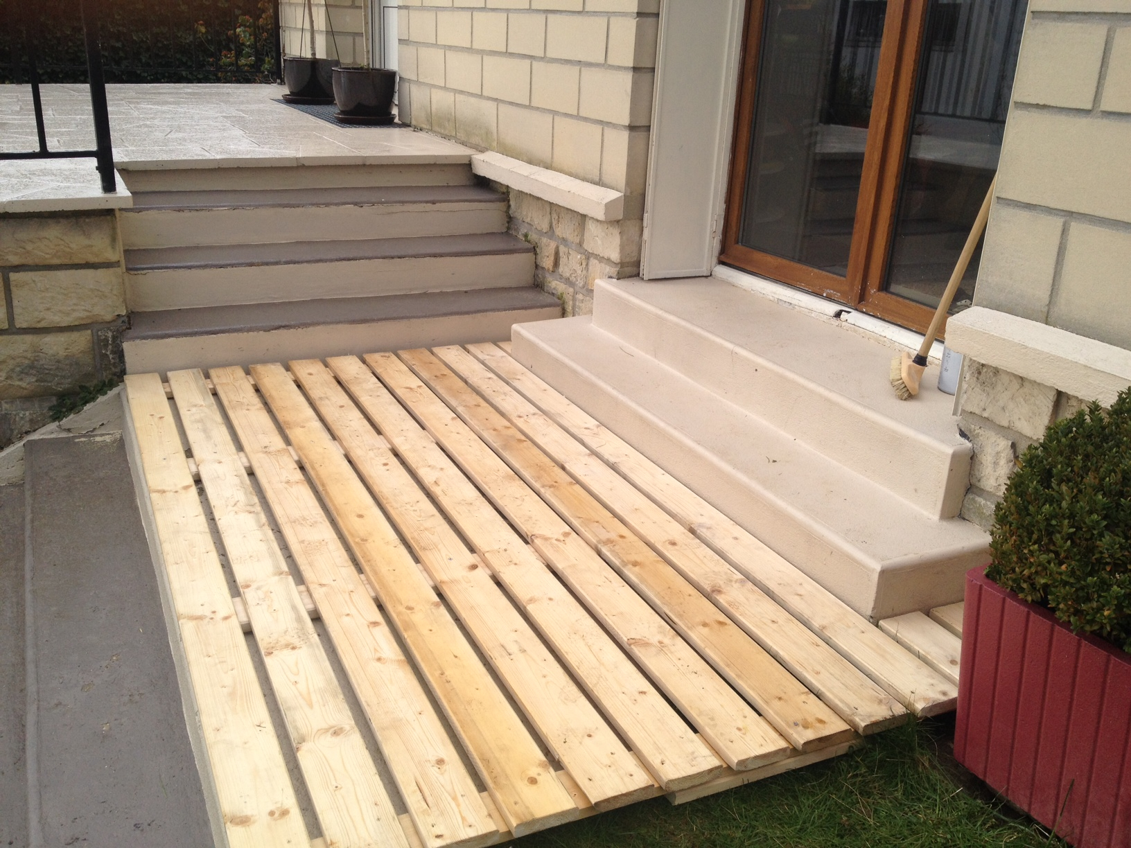 Fabriquer Une Terrasse En Bois Terrasse En Palettes