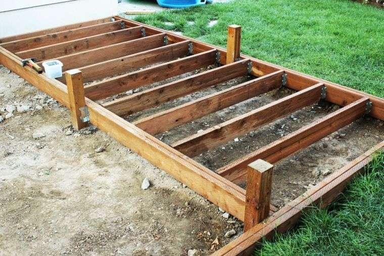 Faire une terrasse en bois tuto détaillé pour fabriquer