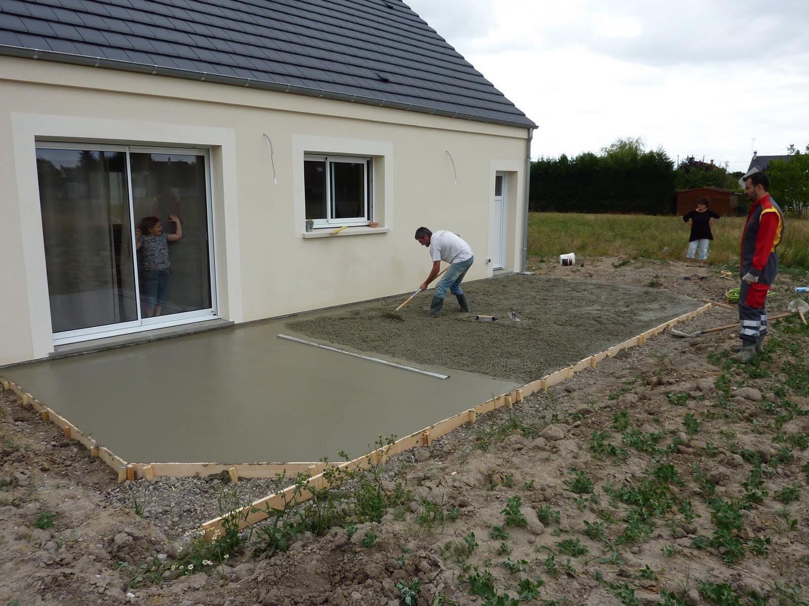 La construction de LAC Terrasse suite et fin