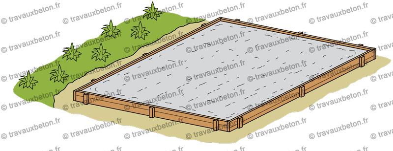 ment faire une dalle béton pour terrasse