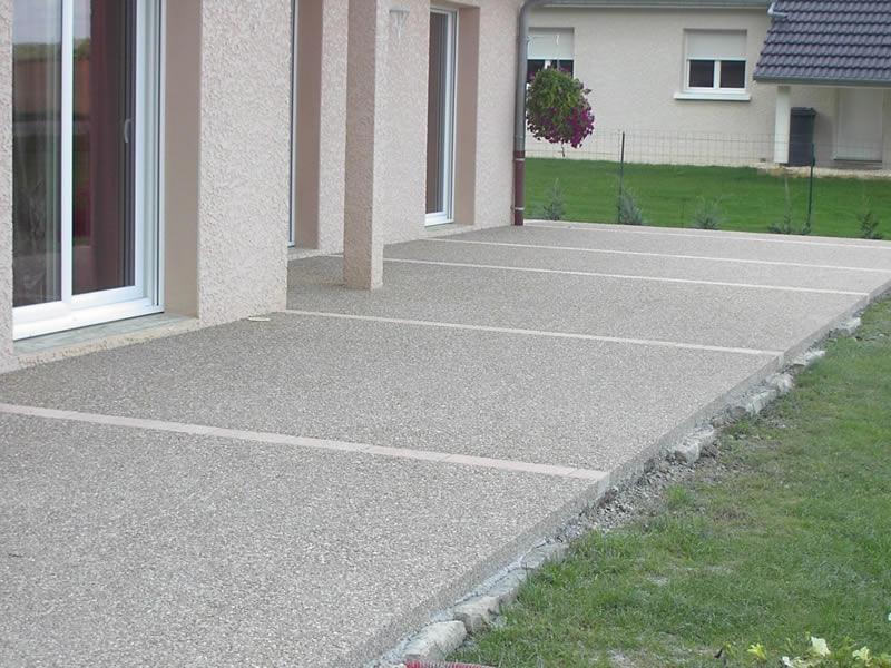Terrasse en beton desactive Nos Conseils