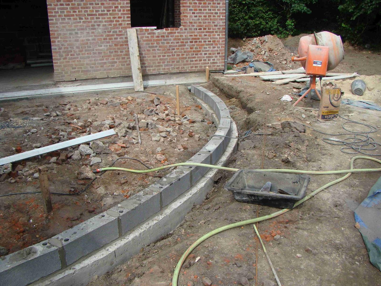 Blog sur la rénovation de notre grange Terrasse