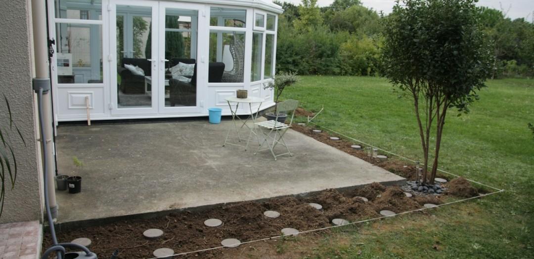 Faire une terrasse de jardin veranda styledevie