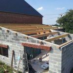 Faire Une toiture Charpente Garage 1 Pan Adossé à La Maison 28 Messages