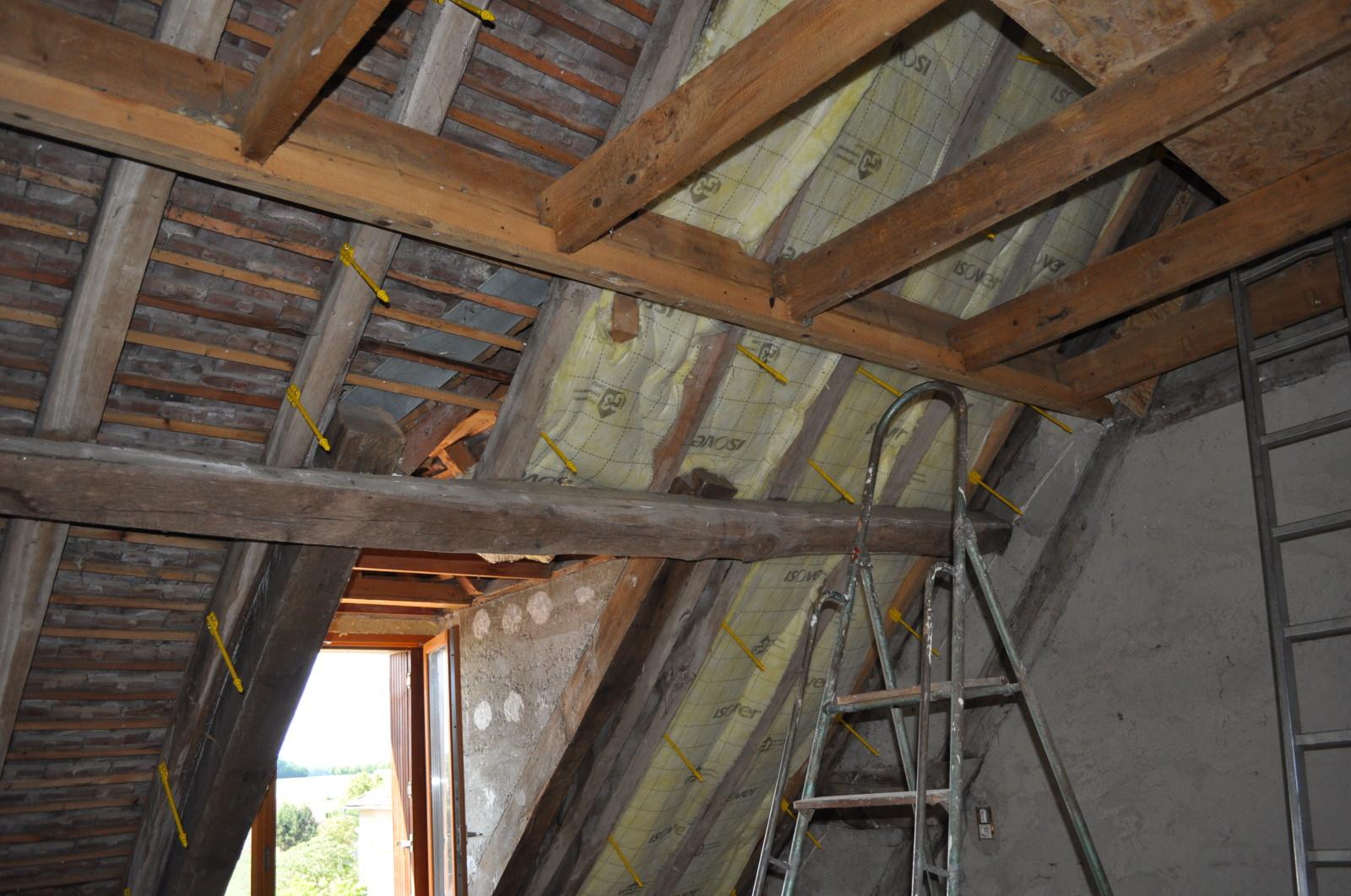 Isolation sous toiture Quelle technique de pose sous