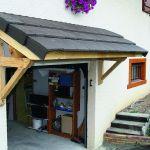 Faire Une toiture Ment Construire soi Même Un Auvent En Bois
