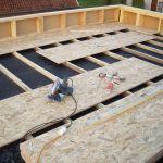Faire Une toiture Notre Auto Construction Passive Maison Ossature Bois M