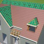 Faire Une toiture toiture Et isolation D Un toit En 3d D Une Maison