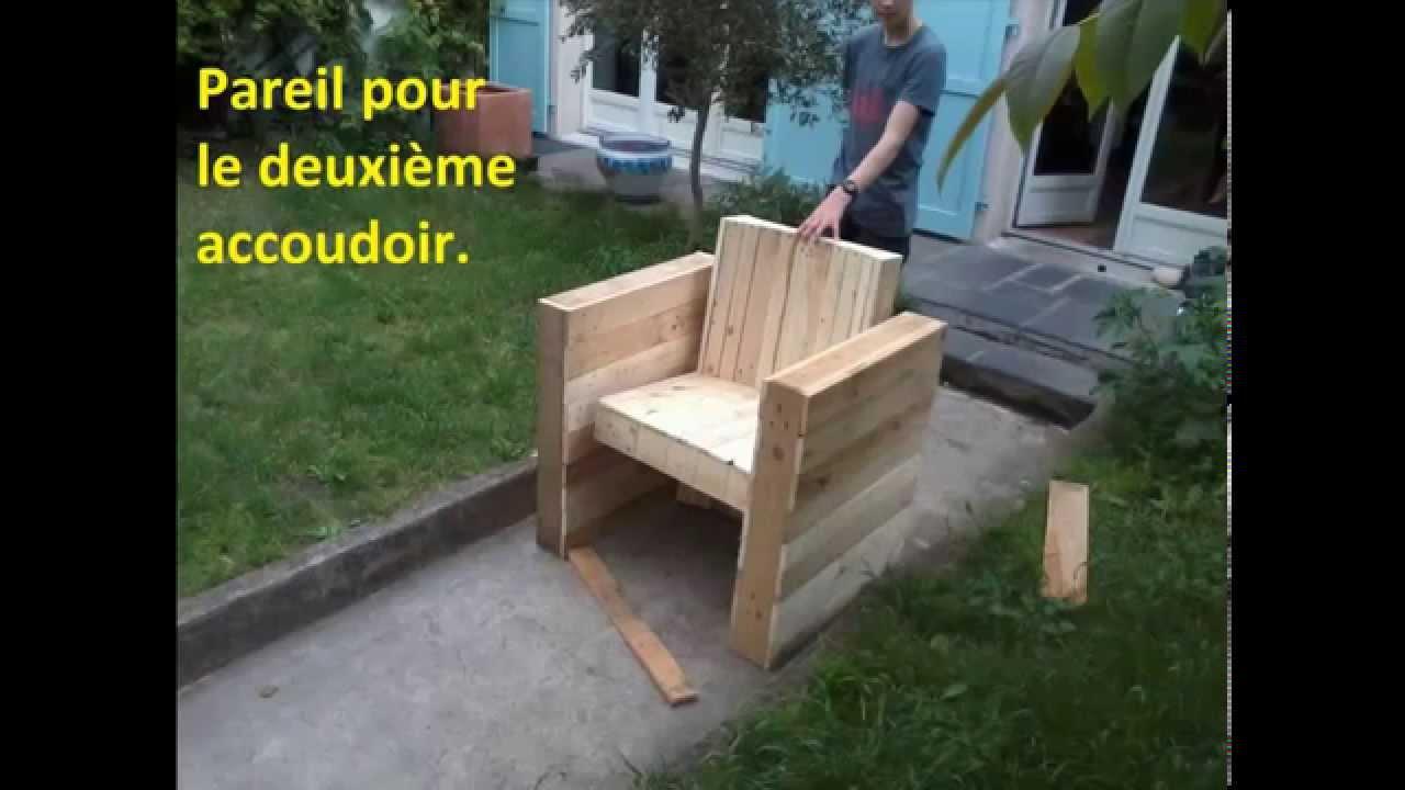 FACILE Fabriquer votre fauteuil de jardin