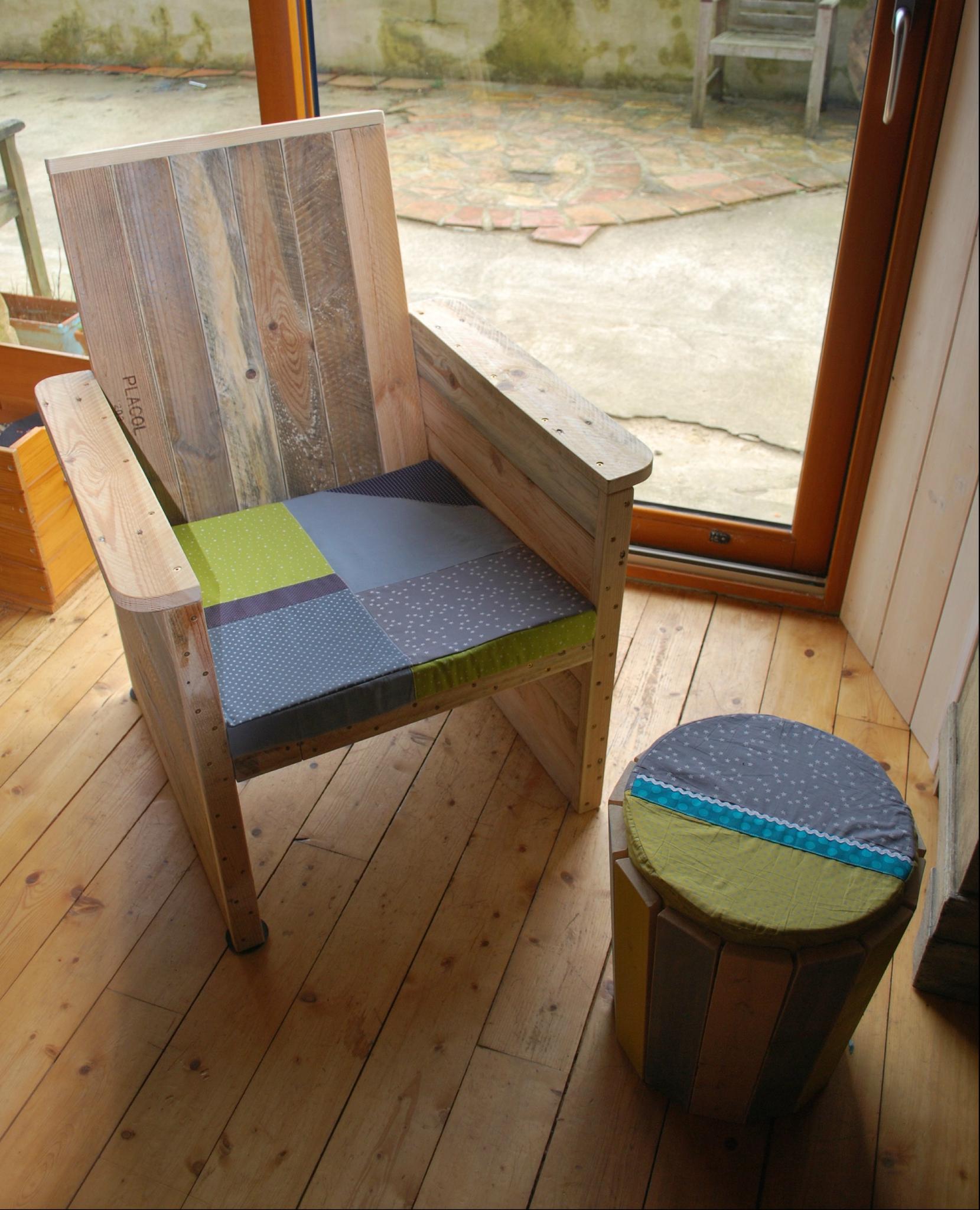 fauteuil en palette Au bout du bois