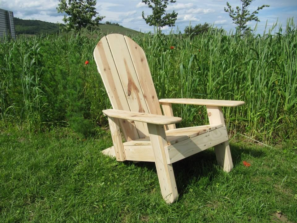 LA chaise Adirondack qu il vous faut pour vous relaxer
