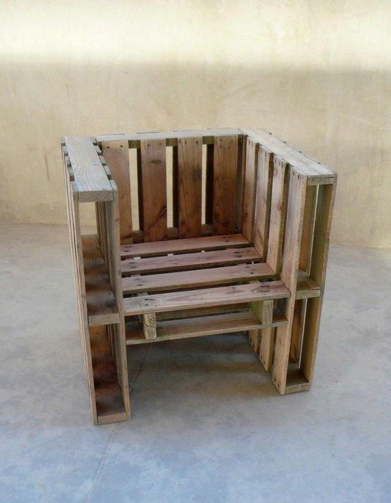 La palette en bois dans tous ses états Elle Décoration