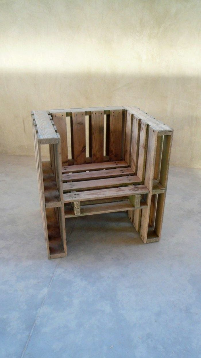 Le fauteuil en palette est le favori incontesté pour la