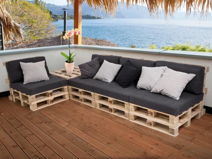 Place assise supplémentaire avec un mobilier DIY