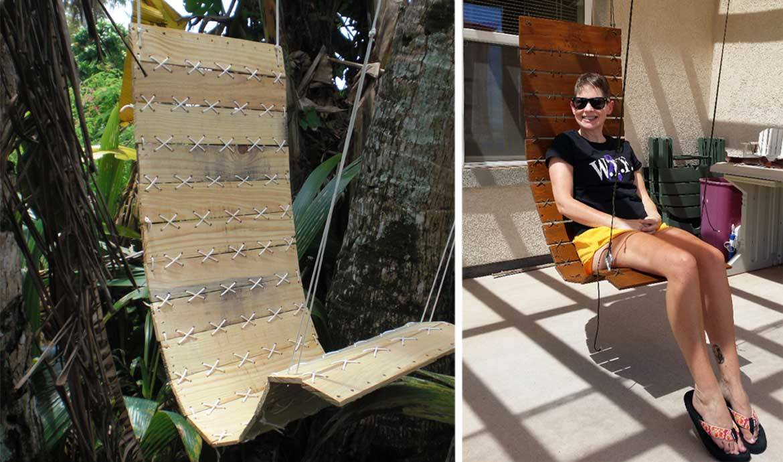 Tuto un fauteuil suspendu DIY Fabriquer un siège