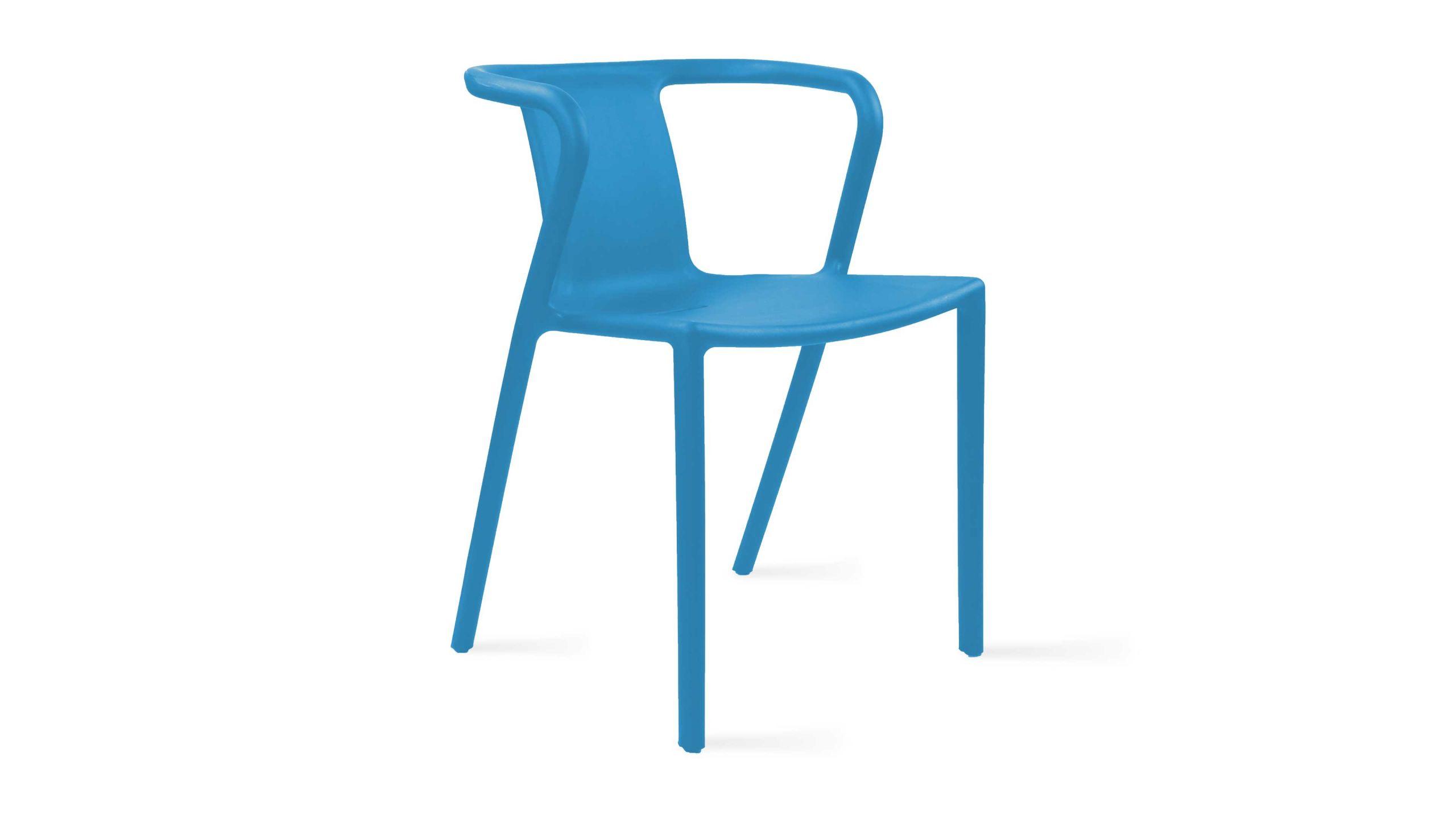 Chaise de jardin Berlin en plastique