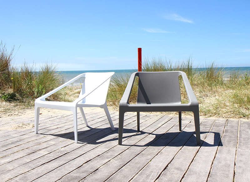 Chaise de jardin design