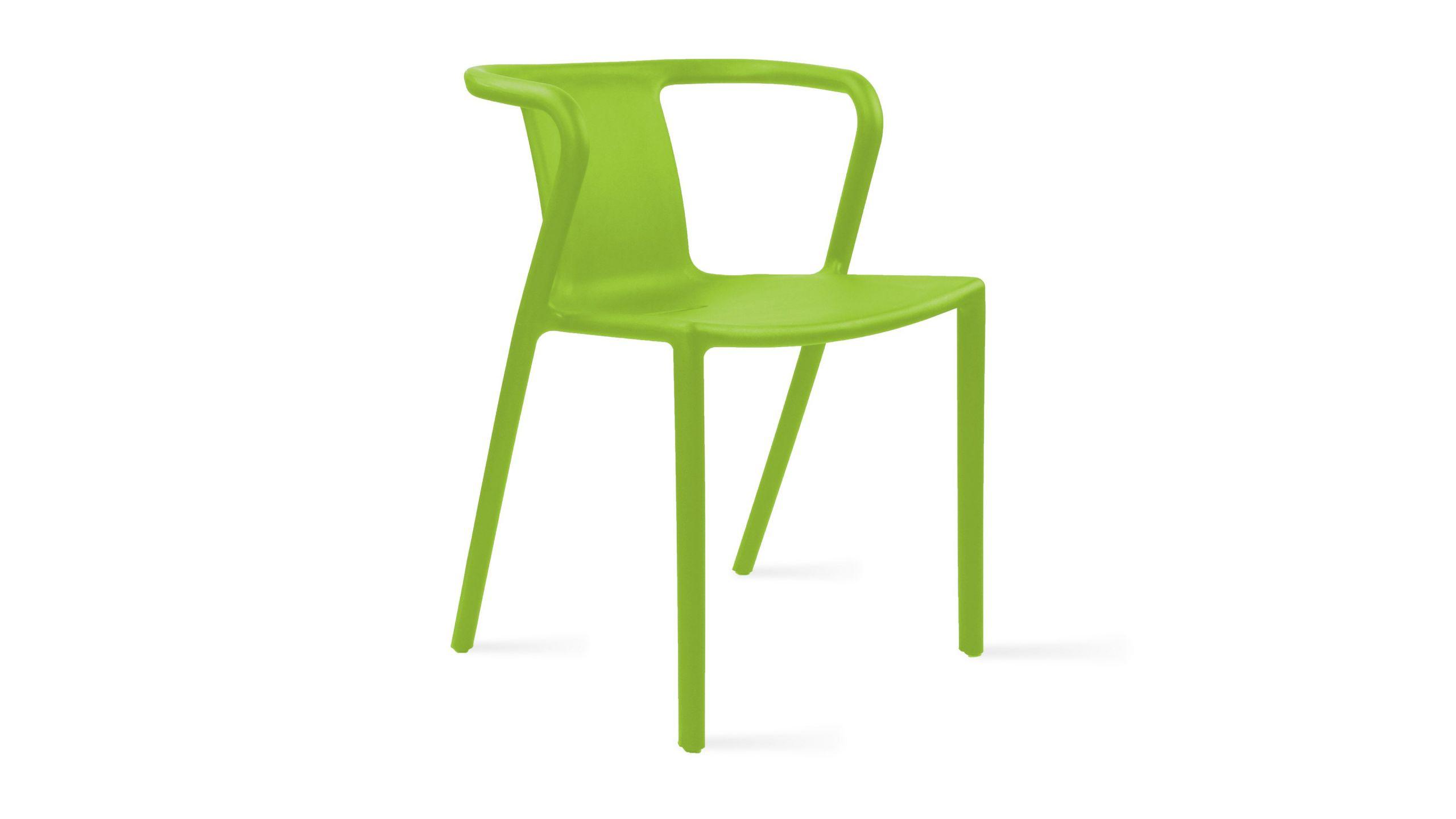 Chaise de jardin en plastique design