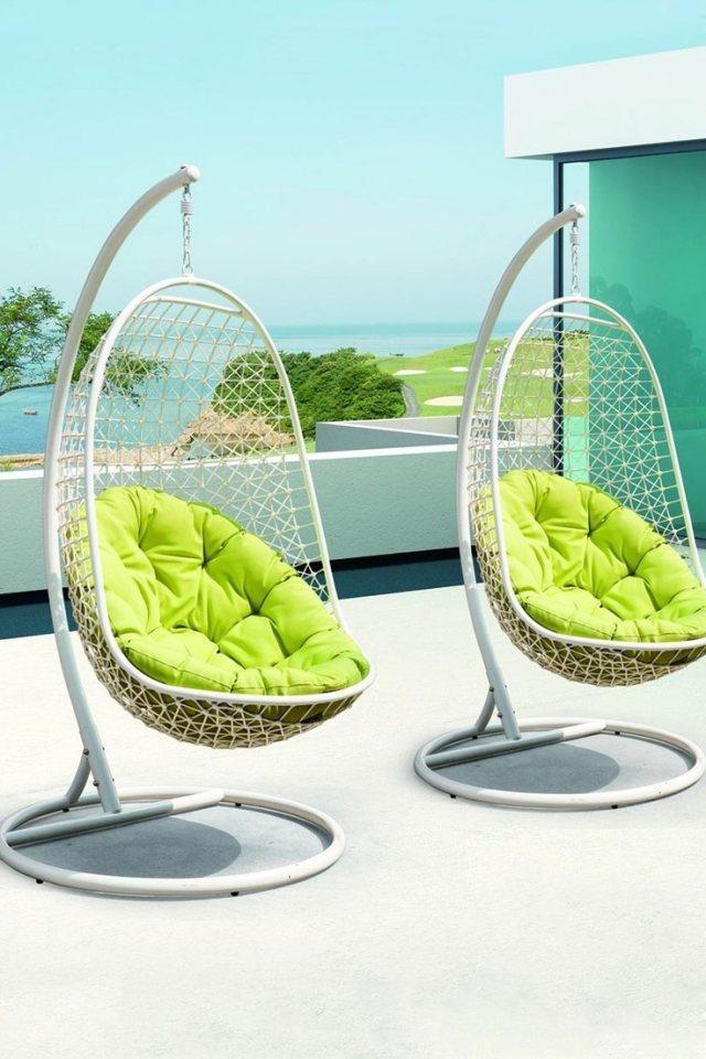 Fauteuil de jardin suspendu en 55 idées de meubles design